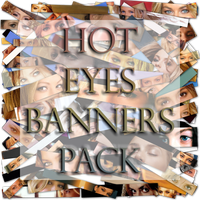 hot eyes banners pack by magXlander