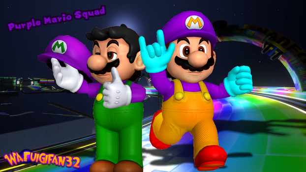 Purple Mario Squad (ft. Nintega Dario) by Waluigifan32