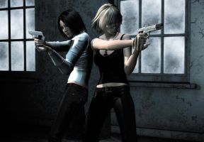 Double Team by Le-Arc-7thHeaven