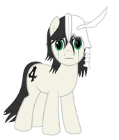 Ulquiorra Ponyfied by FeralHamster