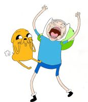 Jake and Finn! by GreyMixPanda