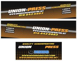 Union press Truck wrap by SD-Designs