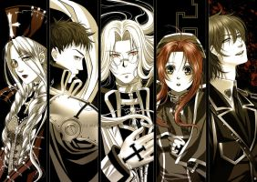 Trinity Blood by alexielart