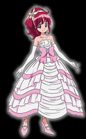 Megumi In Dress by PrincessPuccadomiNyo
