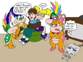 Kidnapped by koopas by wackko200