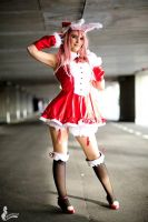 Super Sonico Christmas~ by Justawaykitty