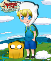 Finn and Jake by Potatoo-Gwen