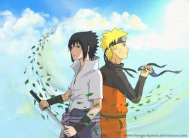 SasuNaru: friends or enemies? by Futago-KawaiI