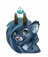 Pinecone Badge by Galaxy--Cat