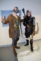 Stoke-Con-Trent 2014 (60) Bane and Green Arrow by masimage