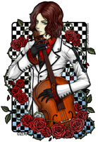 Byron - rose and cello by zero081090