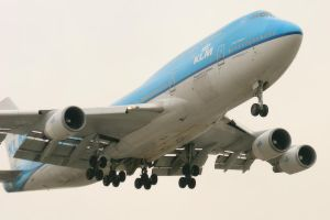LAX 09 KLM 747 by Atmosphotography