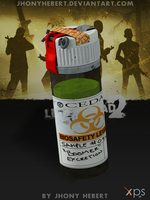 Boomer Bile Bomb - Left 4 Dead 2 by JhonyHebert