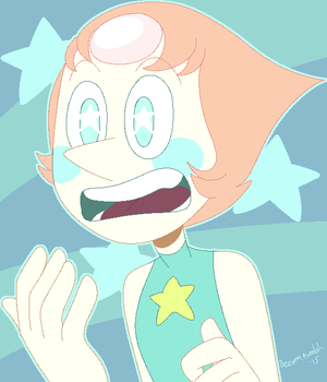 Steven Universe - Blushing Pearl by deeum