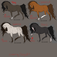 Adoptables! by RvS-RiverineStables