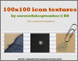 100x100 Paper Icon Textures by SorrowfulSeptember
