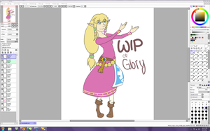 WIP: Zellie my bby by Twillywho