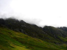 Stock 208: Scottish mountains4 by AlzirrSwanheartStock