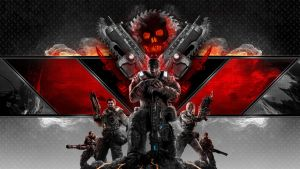 GOW 3 contest wallpaper by olieng