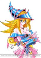 Dark Magician Girl by Riomak