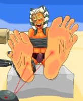 Ahsoka Tano Tickled by Richy17