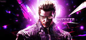 Albert Wesker Signature by tozic