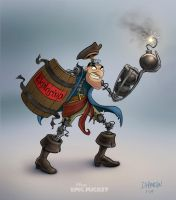 Epic Mickey: Pirate robot by Hamilton74