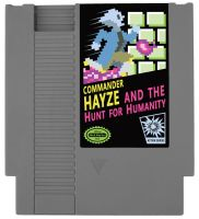 Commander Hayze And The Hunt For Humanity NES game by nickmarino