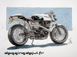 bonneville cr by dessinsdejul