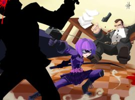 HitGirl Kicking asses by chikinrise