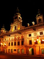 Main Square in Ceske Budejovice at Night05 by abelamario