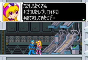 X and Ariel MMZ3 Edition by MegamanX-2009