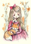 The Girl And The Fox by Ninelyn