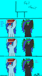Pony Comic 1 : Chairs by KittyCreator