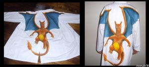 Charizard Lab Coat by moltres93