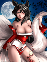 Ahri League of Legends by hotbento