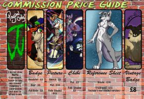 Commission Price Guide by furryfluke