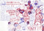 AHS, Deadpool et Creepypasta :3 by Cedono