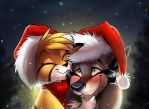 Seasonal Kissies by SilverDeni