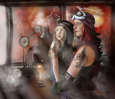 Ardent Time Travelers by PaperDreamerArt