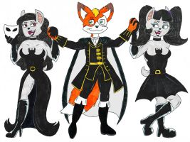 Dancing with the Sisters by fox-mccloud