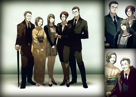 GT: Family portrait by swagever