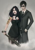 ca: Gangster and Moll by duece