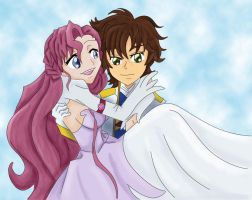 suzaku and euphemia by titanstargirl