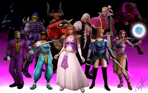 SoulCalibur V Characters by Hyde209