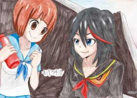 Kill la Kill ~Mako and Ryuko~ by 0Eka0