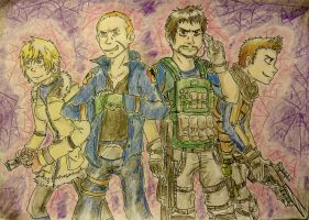 RE6 - Ready to kick some ass! by Hukkis