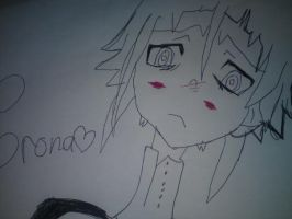 My Drawing Of Crona by ILoveSpitfire