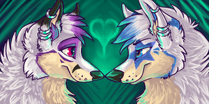 Couple Icons- Lexi + Star by ThayRustback