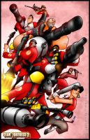 TF2 - RED Team Go by RatchetMario